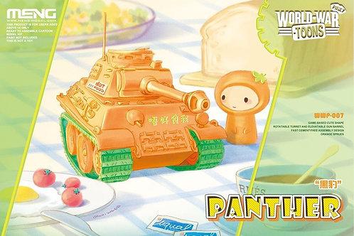 MENG Toons Pinky WWP-007 Танк Пантера с оранжевым настроением