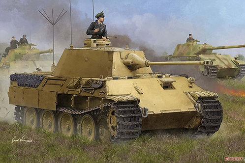 (предзаказ) German Panther PzBeobWg V Ausf. A - Hobby Boss 1:35 84534