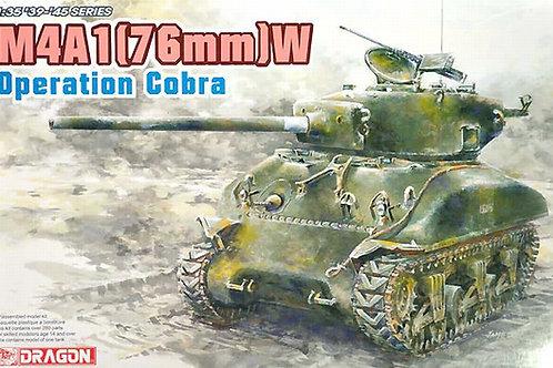 (под заказ) Шерман M4A1 (76)W Operation Cobra - Dragon 1:35 6083