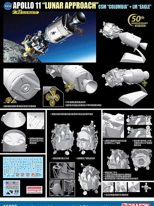 (под заказ) Dragon 1:48 11009 NASAApollo 11 Lunar Approach
