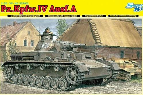 (под заказ) Немецкий танк Pz.Kpfw.IV Ausf.A - Dragon 6747 1:35