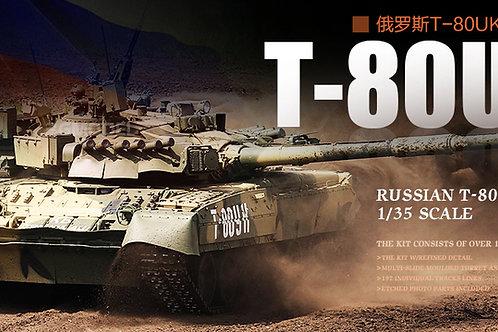 Российский танк Т-80УК командирский - Trumpeter 09578 1/35