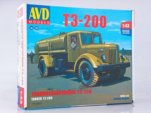 Топливозаправщик Т3-200 (шасси МАЗ-200) - AVD Models 1:43 1372AVD 1429