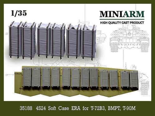 Miniarm B35188 Блоки ДЗ в мягком корпусе, для Т-72Б3М, БМПТ, Т-90МС - 1/35