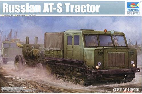 Сборная модель Советский артиллерийский тягач АТ-С - 09514 Trumpeter 1/35