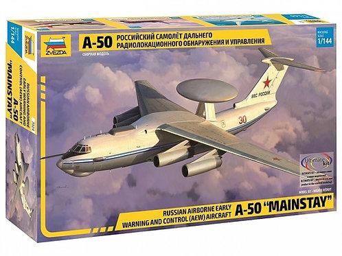 Звезда 7024 1/144 Российский самолет дальнего радиолокационного обнаружения А-50