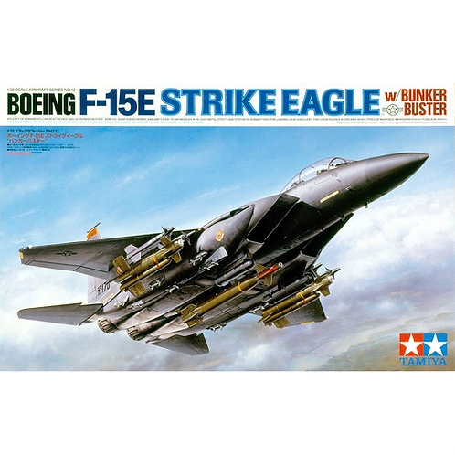 Самолет McDonnell Douglas F-15E Strike Eagle - Tamiya 1:32 60312