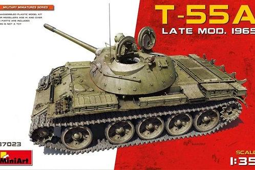 Советский танк Т-55А образца 1965 года, без интерьера - MiniArt 1:35 37023