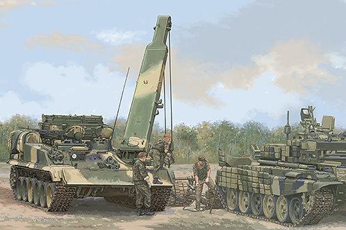 Российская БРЭМ-1М на шасси Т-90А - Trumpeter 1:35 09554