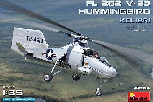 "41004 MiniArt 1/35 Вертолет Fl 282 V-23 HUMMINGBIRD (""Kolibri"", Колибри)"