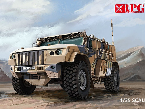 (предзаказ) Российский К-4386 Тайфун-ВДВ, ранний выпуск - RPG Model 35021 1/35