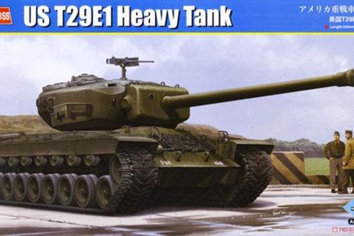 (под заказ) Американский танк  US T29E1 Heavy Tank - Hobby Boss 1:35 84510