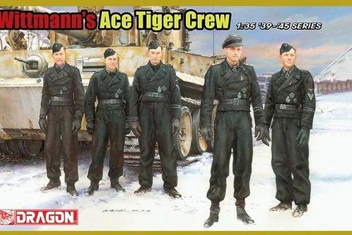 Танковый экипаж Михаэля Виттмана / Wittmann's Ace Tiger Crew - Dragon 1:35 6831