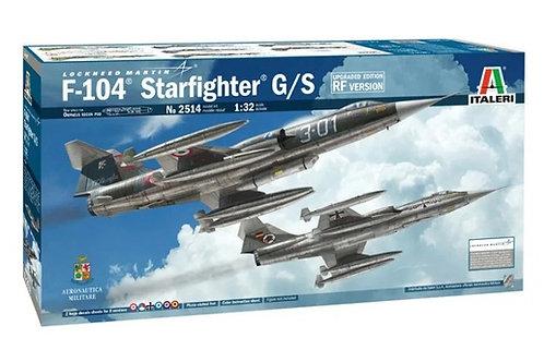 Lockheed F-104 Starfighter G/S Updated Edition RF Version - Italeri 1:32 2514