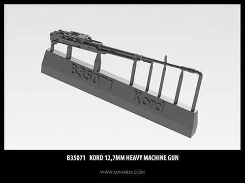 """Miniarm 35071 1:35 """"Корд"""" крупнокалиберный пулемет для Т-90, Коалиции, - b35071"""