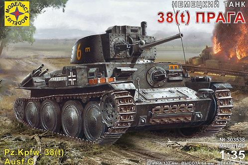 """Немецкий танк PzKpfw 38(t) """"Прага"""" - Моделист 303538 1/35"""