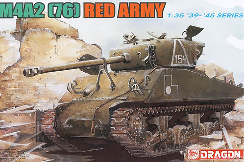 (под заказ) Сборная модель Шерман M4A2 (76) Red Army - Dragon 6188 1:35