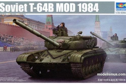 Советский танк Т-64Б мод. 1984 года - Trumpeter 05521 1:35