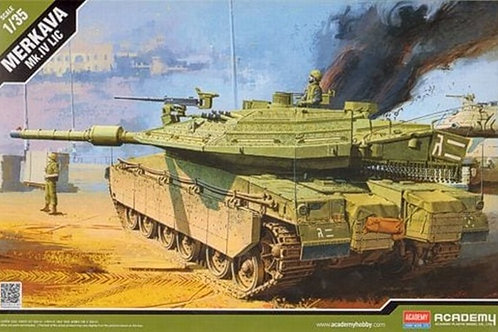 Израильский танк Меркава 4, Merkava Mk.IV LIC - Academy 1:35 13227