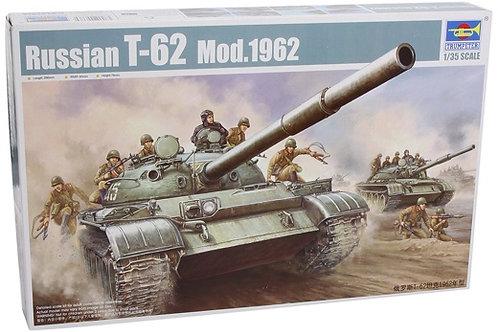 Советский танк Т-62 мод. 1962 года - Trumpeter 00376 1:35