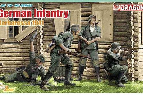 """(анонс) Немецкая пехота 1941 год """"Барбаросса"""" (Gen2) - Dragon 1:35 6580"""