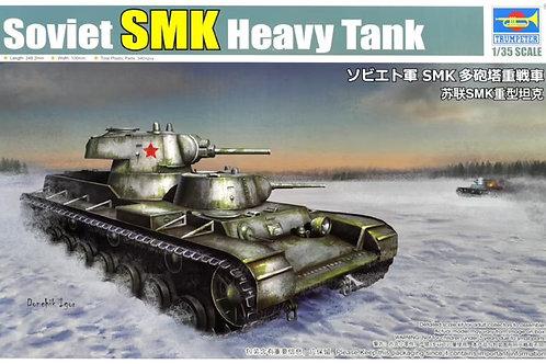 Советский танк СМК, Soviet tank SMK - Trumpeter 1:35 09584