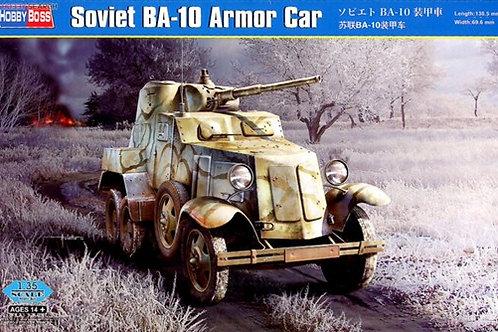 Советский бронеавтомобиль БА-10 - Hobby Boss 83840 1:35