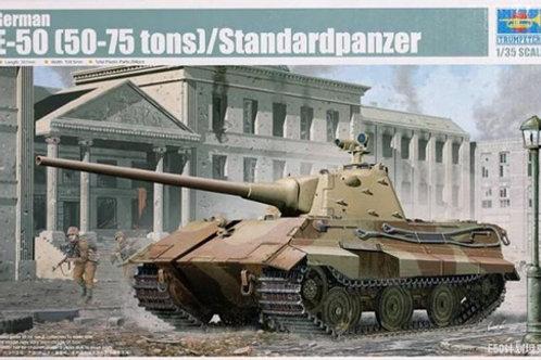 E-50 (50-75 tons) / Standardpanzer - Trumpeter 01536 1/35