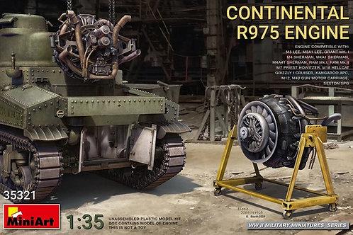 35321 MiniArt 1/35 Двигатель CONTINENTAL R975 ENGINE для танка Шерман и др