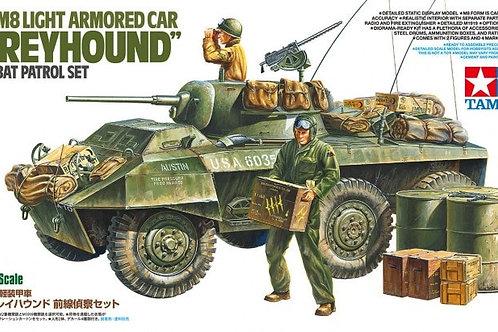 "US M8 Light Armored Car ""Greyhound"" Combat Patrol Set - Tamiya 1:35 25196"