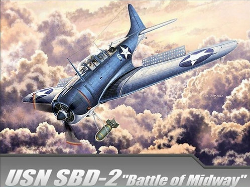 USN SBD-2 Dauntless, Battle of Midway - Academy 1:48 12335