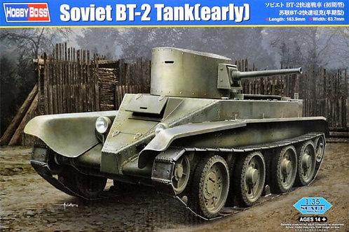 Советский танк БТ-2 ранний выпуск - Hobby Boss 1:35 84514