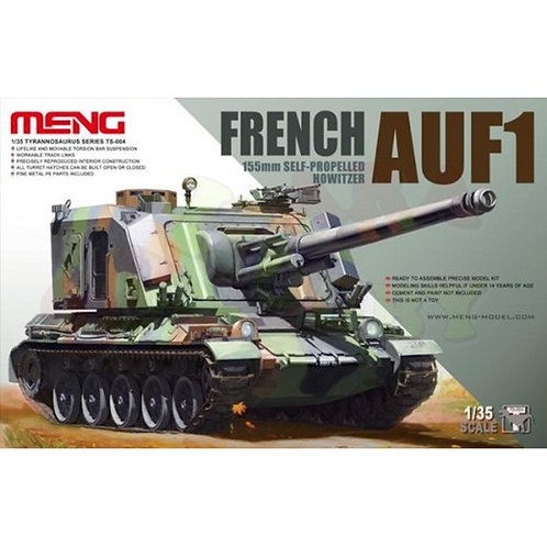 French AUF1 155mm Self-propelled Howitzer - Meng Model TS-004 1/35