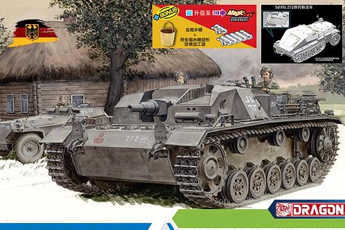 (под заказ) Два набора в одном StuG.III Ausf.B + Sd.Kfz.252 - Dragon 1:35 6919x