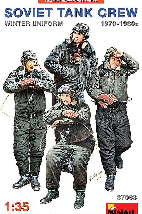 37063 MiniArt 1/35 Советские танкисты в зимней униформе 1970-80-х годов