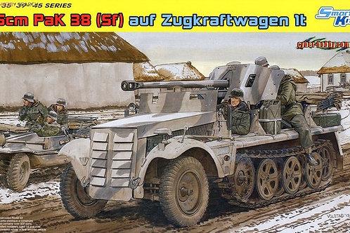 5cm PaK 38 (Sf) auf Zugkraftwagen 1t - Dragon 6719 1:35