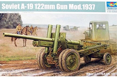 Советская 122-мм пушка образца 1931/37 годов А-19 - Trumpeter 02325 1:35