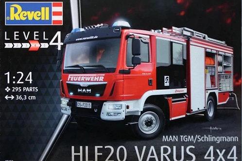 Пожарная машина Schlingmann HLF 20 VARUS 4x4 - Revell 07452 1/24