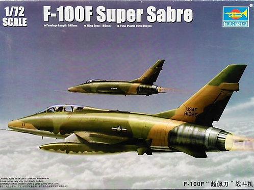 Супер Сейбр F-100F Super Sabre - Trumpeter 1:72 01650