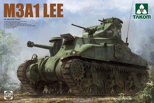 (под заказ) Американский танк М3 Ли мод. А1 / M3A1 Lee - Takom 1:35 2114