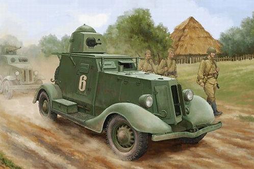 Советский бронеавтомобиль БА-20 мод. 1937 года выпуска - Hobby Boss 83882 1:35