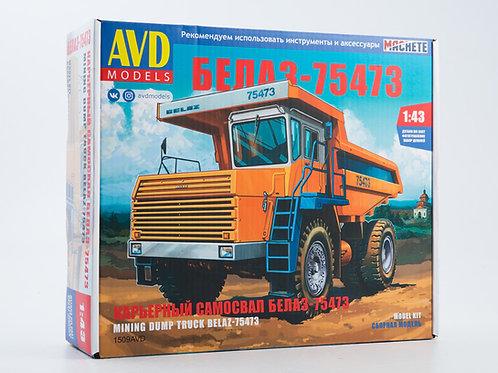 1509AVD Карьерный самосвал БЕЛАЗ-75473 - AVD 1/43