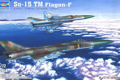 Советский самолет Су-15 ТМ, Sukhoi Su-15 TM Flagon-F - Trumpeter 1:72 01623