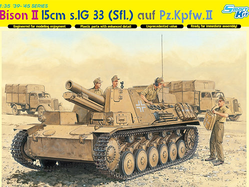 "150-мм САУ ""Бизон 2"" Bison II на шасси Pz.II - Dragon 1:35 6440"
