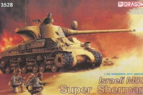 Израильский танк M50 Super Sherman - Dragon 3528 1:35 (наборные траки)