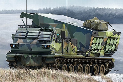 M270/A1 Multiple Launch Rocket System - Norway  Trumpeter 1:35 01048 АНОНС