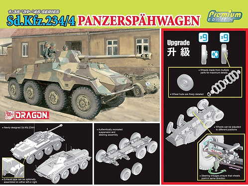 (предзаказ 2022) Sd.Kfz.234/4 Panzerspähwagen Premium Edition - Dragon 1:35 6772