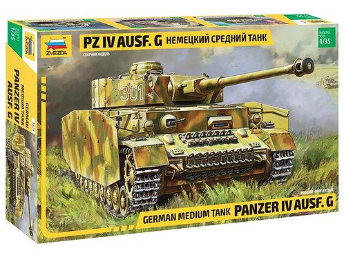 *FARSH * Звезда 3674 Немецкий танк Pz.IVAusf.G 1/35 + БОНУСЫ