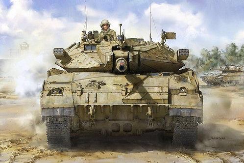 Израильский танк Merkava 2D - Takom 1:35 (АНОНС 2020)