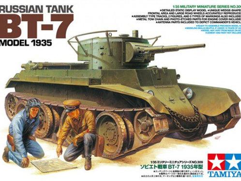 Советский танк БТ-7 мод. 1935 года - Tamiya 35309 1:35